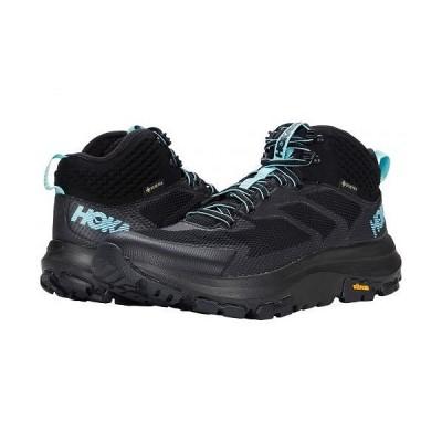 Hoka One One ホカオネオネ レディース 女性用 シューズ 靴 ブーツ ハイキング トレッキング Toa GTX - Black/Antigua Sand