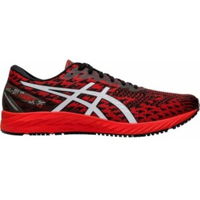 アシックス メンズ スニーカー シューズ ASICS Men's GEL-DS Trainer 25 Running Shoes Red/White