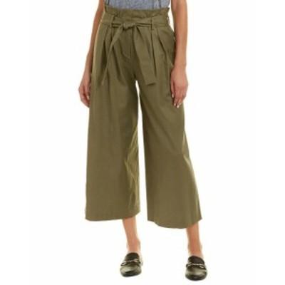 BCBGMAXAZRIA BCBG マックスアズリア ファッション パンツ Bcbgmaxazria Isaac Linen-Blend Pant Xs Green