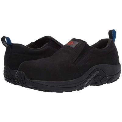 Merrell Work Jungle Moc Leather Moc Composite Toe SD+ メンズ スニーカー 靴 シューズ Black