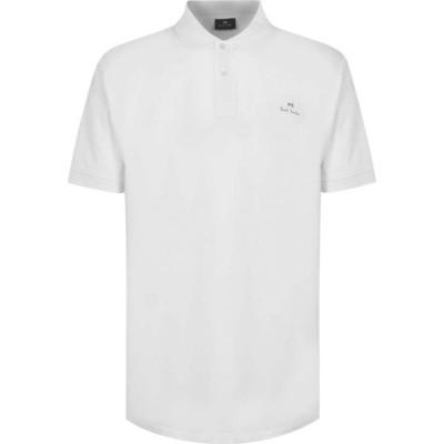 ポールスミス PS by Paul Smith メンズ ポロシャツ トップス Mercerised Polo Shirt White