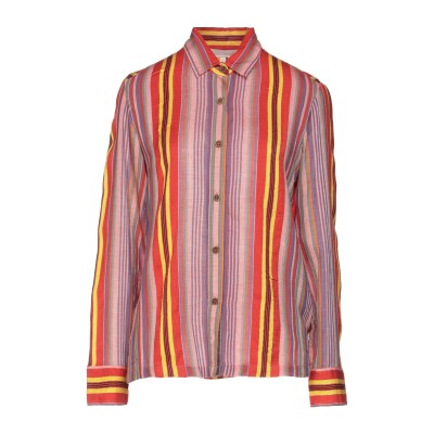 VANESSA BRUNO シャツ レッド 34 レーヨン 70% / コットン 30% シャツ