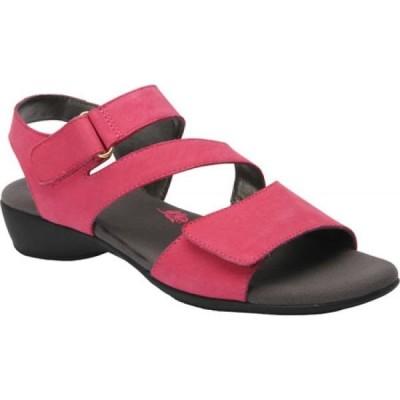 ロスホマーソン Ros Hommerson レディース シューズ・靴 Marilyn Fuchsia Nubuck Leather