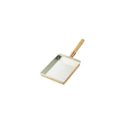 SA銅 玉子焼 関西型用〈木柄〉 中 15cm~21cm用/62-6474-27