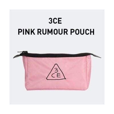 【3CE】(スリーコンセプトアイズ) ポーチ #薄ピンク(オリジナルサイズ)※国内発送
