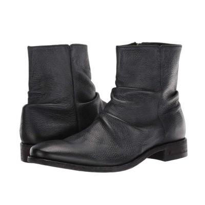 ジョン バルベイトス John Varvatos Collection メンズ ブーツ シューズ・靴 Morrison Sharpei Reverse Leather Boot Black