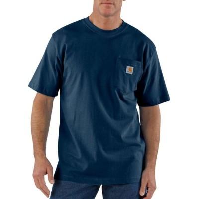 カーハート 半袖 ポケットTシャツ オリジナルフィット ネイビー ポケT CARHARTT POCKET T-SHIRT ORIGINAL FIT NAVY