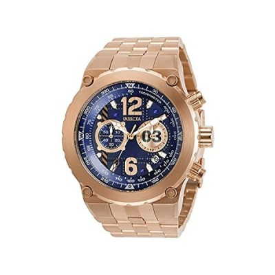 Invicta Men's Aviator Quartz Watch with Stainless Steel Strap, Rose Gold, 32 (Model: 31596) 並行輸入品