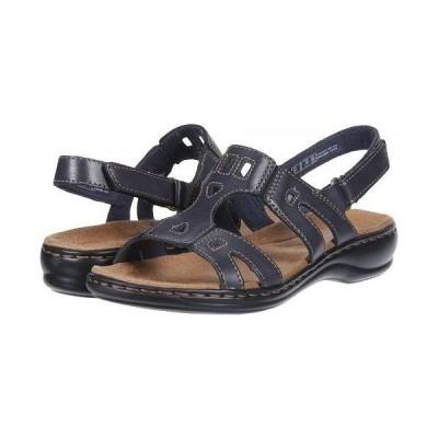 Clarks クラークス レディース 女性用 シューズ 靴 サンダル Leisa Annual - Navy Leather