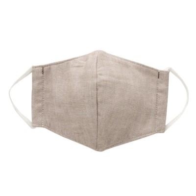 日本製雲ごこちガーゼ起毛ファッションマスク マリンブルー