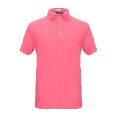 ドルモア DRUMOHR ポロシャツ コーラル 3XL コットン 100% ポロシャツ