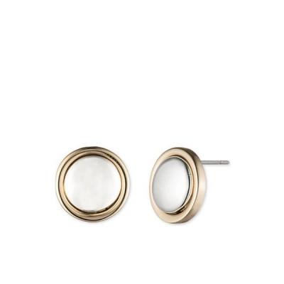 ラルフローレン レディース ピアス・イヤリング アクセサリー Two-Tone 12MM Button Stud Earrings
