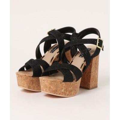 Parade ワシントン靴店 / 【厚底】コルクヒールチャンキーヒールサンダル 499 WOMEN シューズ > サンダル