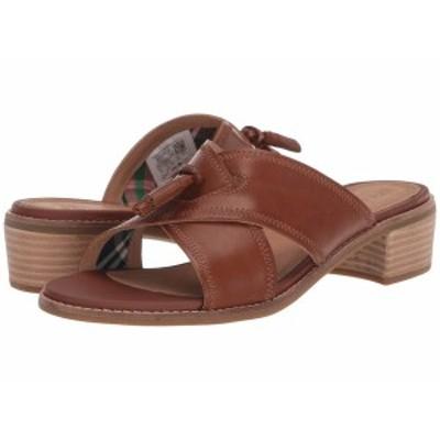 スペリー レディース ヒール シューズ Seaport City Sandal Tassel Slide Leather Cathay Spice