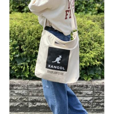 Port / 【 KANGOL / カンゴール 】 キャンバス ショルダー トート バッグ WOMEN バッグ > トートバッグ