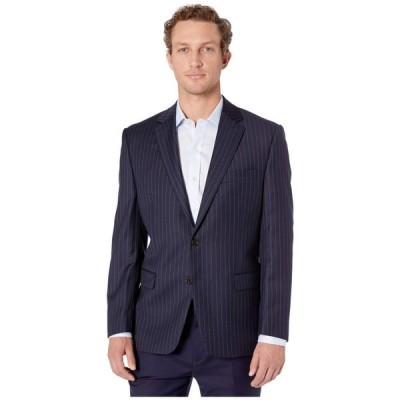 ラルフ ローレン LAUREN Ralph Lauren メンズ スーツ・ジャケット アウター Lattimore Navy Stripe