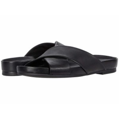 クラークス レディース サンダル シューズ Pure Cross Black Leather