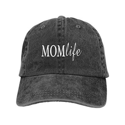 Mom Life ヴィンテージ 調節可能 野球帽 ブラック お母さん用