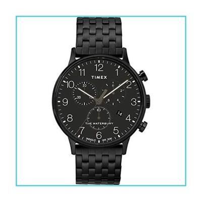 Timex。 40mm Black - Burnished Steel【並行輸入品】
