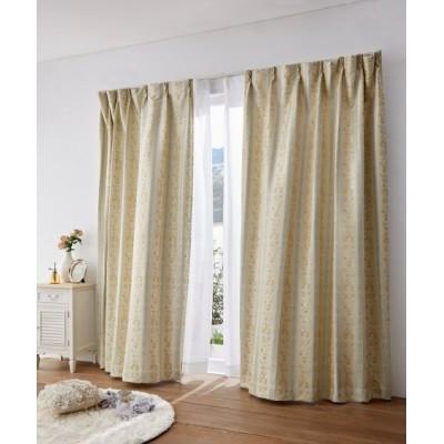 クラシカルフラワー柄遮光カーテン ドレープカーテン(遮光あり・なし) Curtains, blackout curtains, thermal curtains, Drape(ニッセン、nissen)