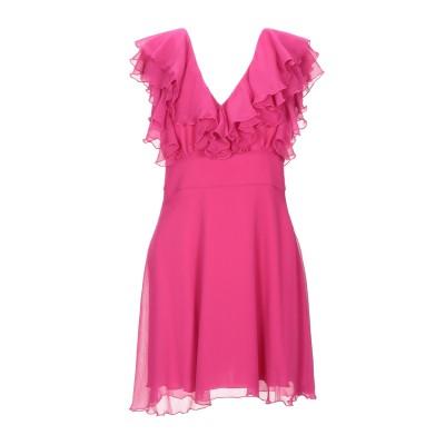 MARIUCCIA ミニワンピース&ドレス フューシャ M ポリエステル 100% ミニワンピース&ドレス