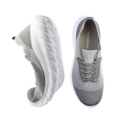 [La Dearchuu] ランニングシューズ メンズ 軽量 スニーカー 大きいサイズ ウォーキングシューズ 男性 カジュアルシューズ 通気性 運動靴