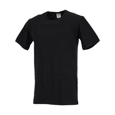 アビレックス(AVIREX) メンズ デイリー 半袖クルーネック Tシャツ DAILY S/S CREW NECK T-SHIRT ブラック 6143502 009 普段着 シンプル カジュアル インナー