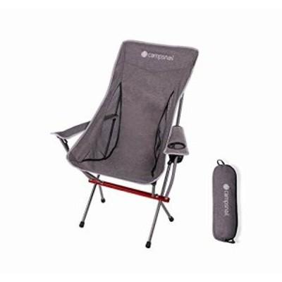 Campsnail アウトドア チェア キャンプ 椅子 イス 折りたたみ 耐荷重150kg 超軽量 ローチェア ハイバック コンパクト 7075航空アルミ合金