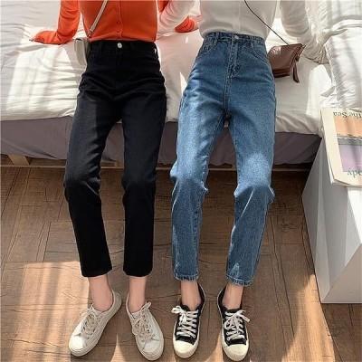 Wansmall レディース パンツ pt0375 Aude High Waist Straight Pants