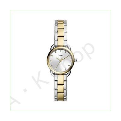 Fossil Womens Analogue Quartz Watch with Stainless Steel Strap ES4498--並行輸入品--