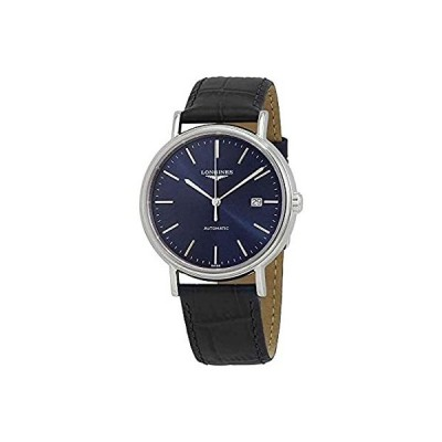 Longines Presence SS with Blue Dial, Blue Leather L4.922.4.92.2