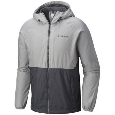 コロンビア メンズ ジャケット&ブルゾン アウター Columbia Spire Heights Jacket Graphite, Columbia Grey