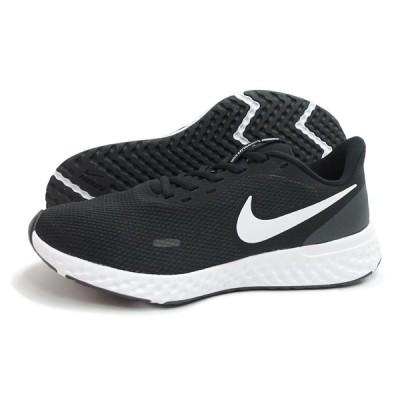 NIKE(ナイキ)REVOLUTION 5(4E)(レボリューション 5)(4E)(BQ6714-003/ブラック) スニーカー 黒 メンズ 運動靴 幅広
