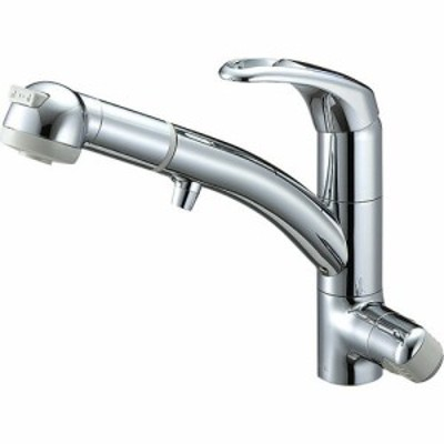 SANEI シングルワンホールスプレー混合栓(浄水器兼用) 一般地用 【品番:K8767JV2-7S-C-13】