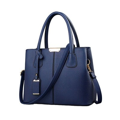 FiveloveTwo女性レディース ハンドバッグ合成皮革 トートバッグステッチ PUレザーかばんビジネス 通勤 通学フォーマルバッグ大容量出張バッグ
