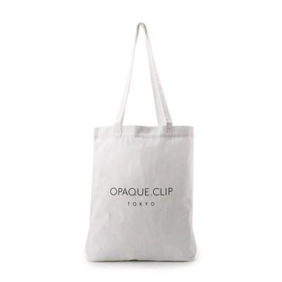(OPAQUE.CLIP/オペーク ドット クリップ)OPAQUE.CLIP オリジナルエコバッグ M/レディース ホワイト(001)