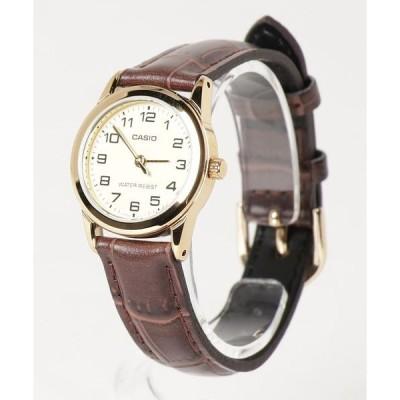 腕時計 CASIO カシオ/ クォーツ べーシック アナログ レザーバンド LTP-V001GL-1B LTP-V001GL-7B