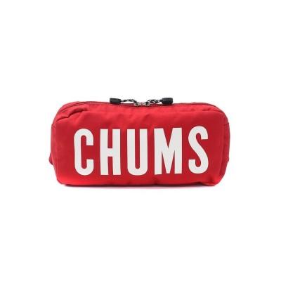 【ギャレリア】 CHUMS ウエストバッグ チャムス ウエストポーチ エコチャムスロゴウエストバッグ Logo Waist Bag CH60−2558 ユニセックス レッド F GALLERIA