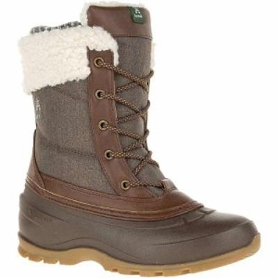カミック Kamik レディース ブーツ シューズ・靴 Kamk Snowpearl Boot Dark Brown