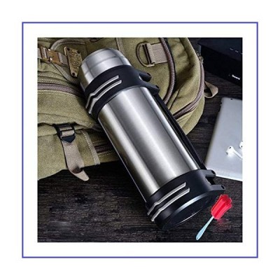 Without 3L/2L High Capacity Stainless Steel Thermos Fashion Everyday, Outdoor,Automotive Water Thermo Cup Portable Insulation Vacuum Cup (Ca