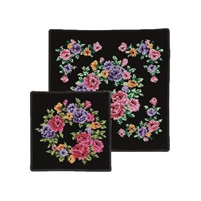 ケイズクリエーション 日本製シェニール織 タオルハンカチ×ミニタオルハンカチセット  CNT04538B