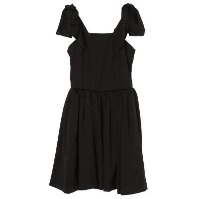 リボンスリーブドレス