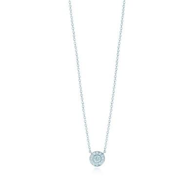 ティファニー TIFFANY ネックレス プラチナ ダイヤモンド ラウンド