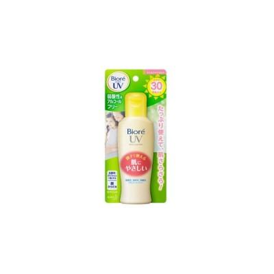 【T】 ビオレ さらさらUV マイルドケアミルク SPF30 PA++ (120ml) 顔からだ用 親子で使える日焼け止め乳液
