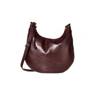 Frye フライ レディース 女性用 バッグ 鞄 ホーボー ハンドバッグ Melissa Zip Scooped Hobo - Merlot