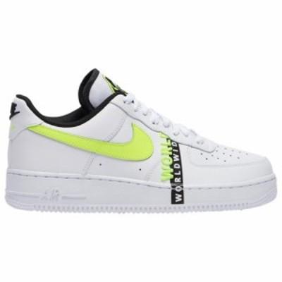 (取寄)ナイキ メンズ シューズ エア フォース 1 LV8 Nike Men's Shoes Air Force 1 LV8 White Volt Black