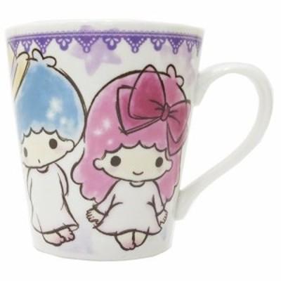 ◆キキ&ララファジー柄マグカップ(スター)【アニメキャラ】(165)サンリオ