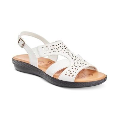 イージーストリート Easy Street レディース サンダル・ミュール シューズ・靴 Bolt Sandals White