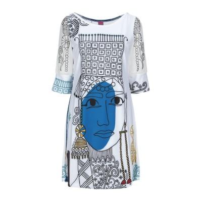 SAVE THE QUEEN ミニワンピース&ドレス ホワイト S ポリエステル 88% / ポリウレタン 12% ミニワンピース&ドレス