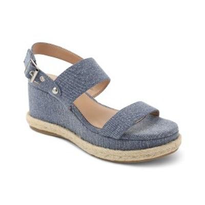 BCBジェネレーション レディース サンダル シューズ Allia Flatform Wedge Sandals Denim